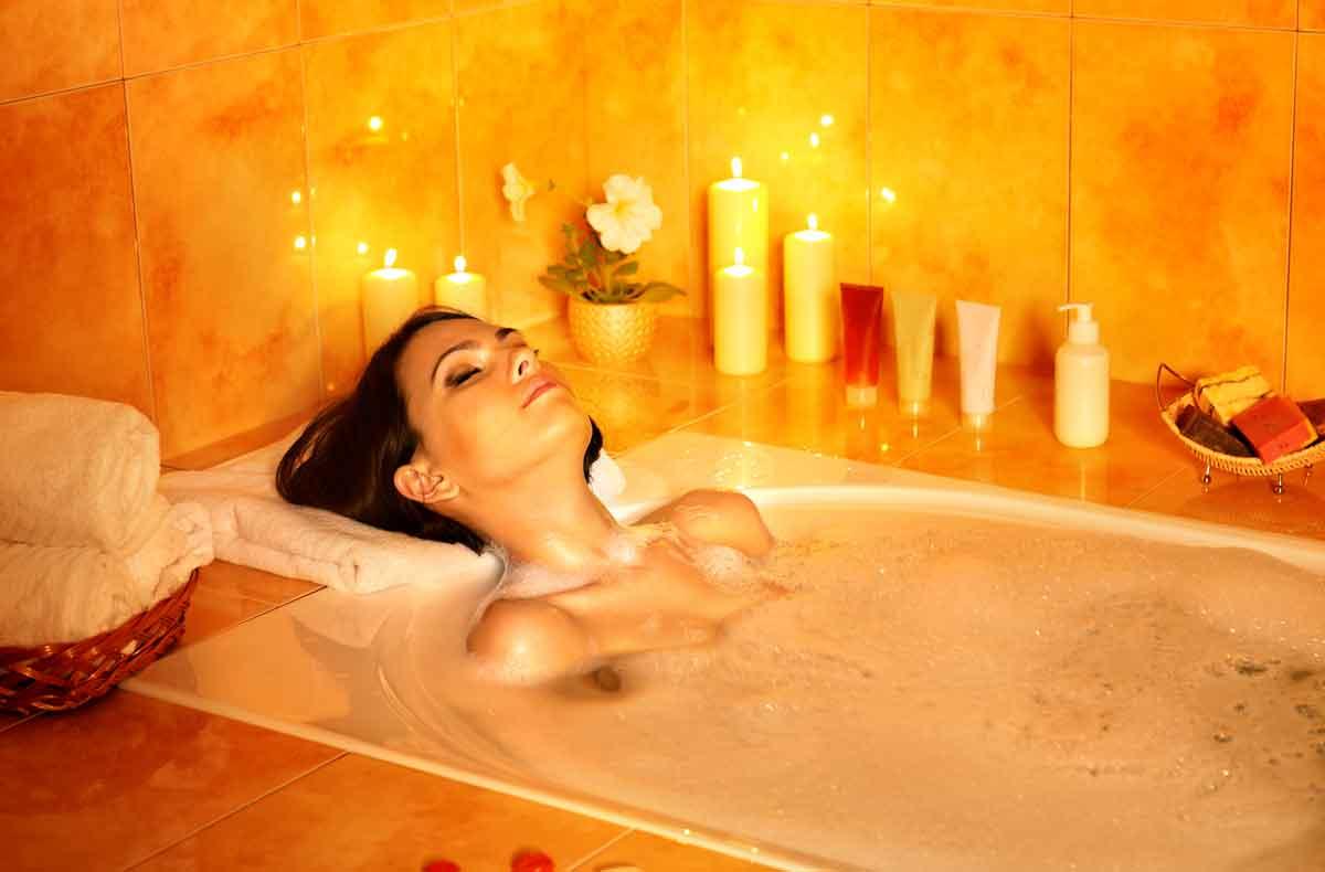 hotelkamer met bad genieten